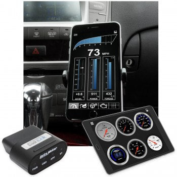 Autometer DASHLINK 6035, OBDII DIGITAL GAUGES, APPLE iOS/ANDROID