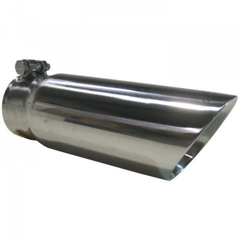 "MBRP T5114 12"" Dual Wall Angled Exhaust Tip"