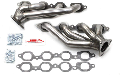 "JBA Performance Exhaust 1850S-4 1 5/8"" Header Shorty Stainless Steel 14-18 GM Truck/SUV 5.3/6.2L - 2019 Legacy Models"