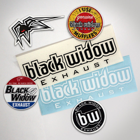 Black Widow Small Sticker Pack