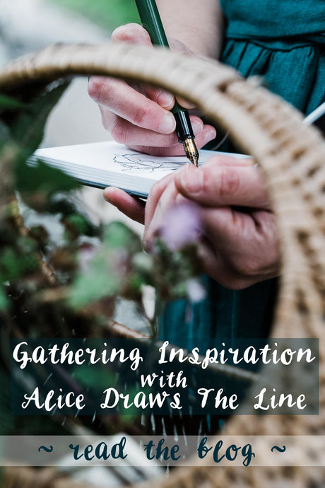 Gathering inspiration and documenting the process