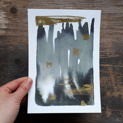 Grey and gold by Alice Draws the Line