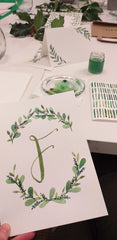 Beginner's Botanical Watercolour Workshop by Alice Draws The Line
