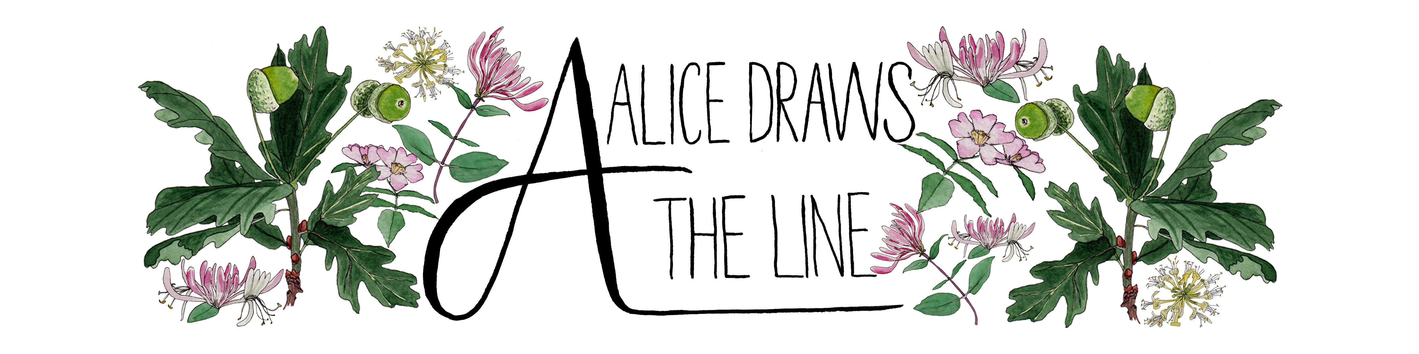 Alice Draws the Line, Brand Identity, March Meet the Maker
