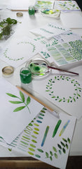 About the Beginner's Botanical Watercolour Workshop with Alice Draws The Line
