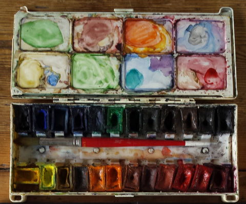 My Grandmother's Watercolours by Alice Draws The Line