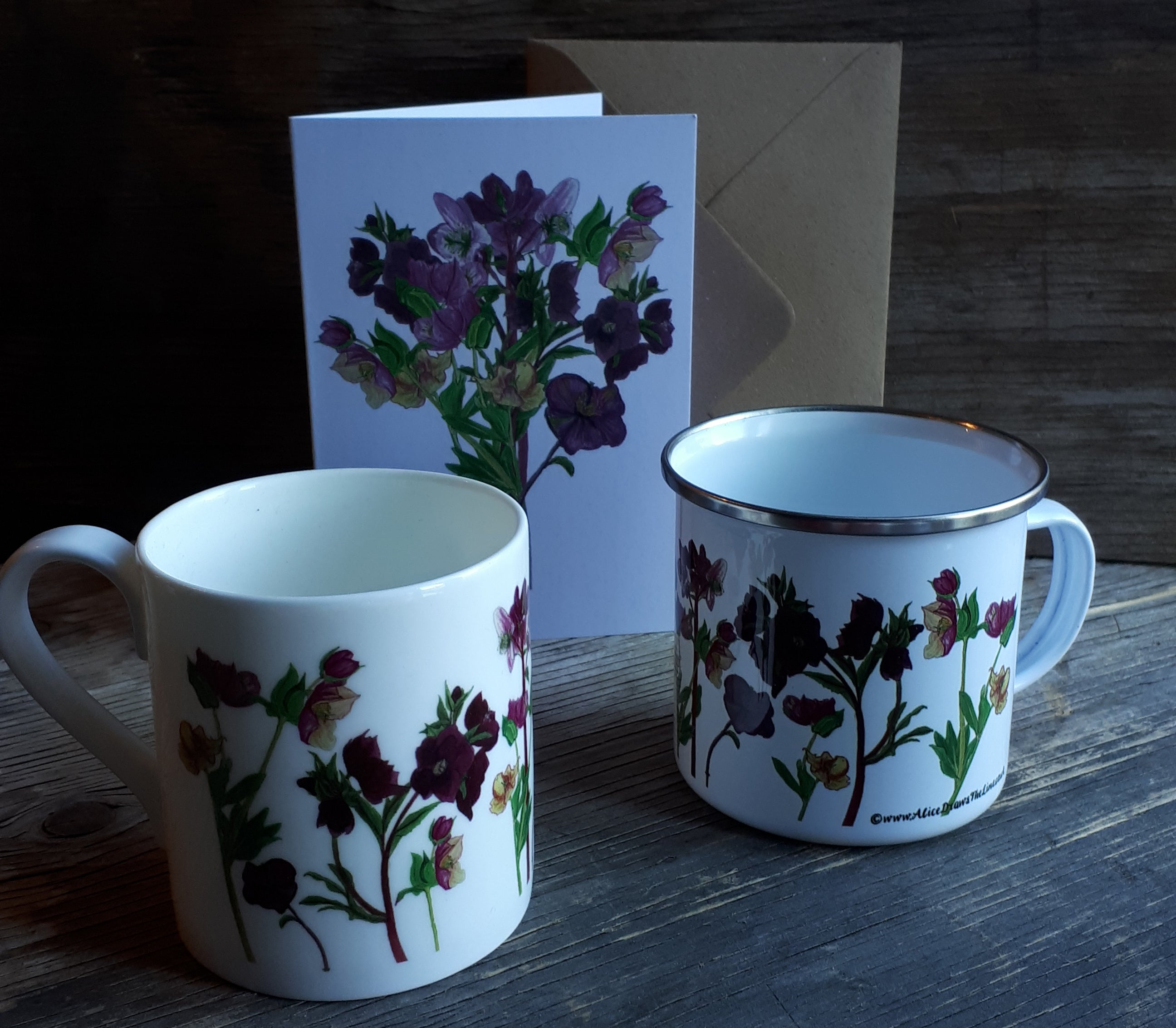The Hellebore collection by Alice Draws the Line