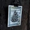 Pine cone black ink original artwork by Alice Draws the Line