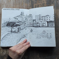 Tenby Harbour by Alice Draws the Line