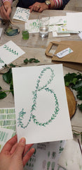 What do you do on a Beginner's Botanical Watercolour Workshop?