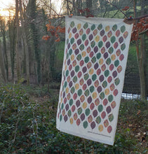Load image into Gallery viewer, Beech Leaf Tea Towel