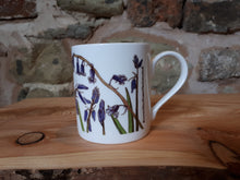 Load image into Gallery viewer, Bluebell China mug by Alice Draws The Line
