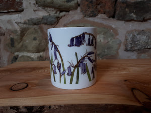 Bluebell China mug by Alice Draws The Line