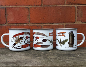 Bushcraft Enamel Mug Design