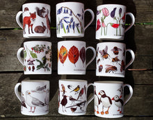 Load image into Gallery viewer, China mug designs by Alice Draws The Line