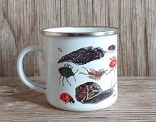 Load image into Gallery viewer, Bug Mug Enamel Mug Design