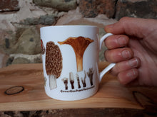 Load image into Gallery viewer, Fungi and Mushroom mug by Alice Draws The Line