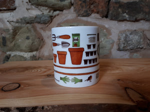 Gardener's Allotment mug by Alice Draws The Line
