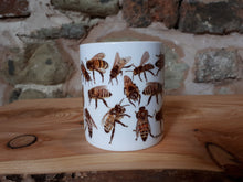 Load image into Gallery viewer, Honey Bee China mug by Alice Draws The Line