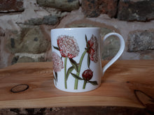 Load image into Gallery viewer, Peony China mug by Alice Draws The Line