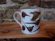 Load image into Gallery viewer, Pheasants china mug by Alice Draws the Line