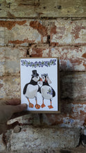 Load image into Gallery viewer, Puffin Wedding Card by Alice Draws The Line