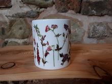 Load image into Gallery viewer, Rainbow Flowers China mug by Alice Draws The Line