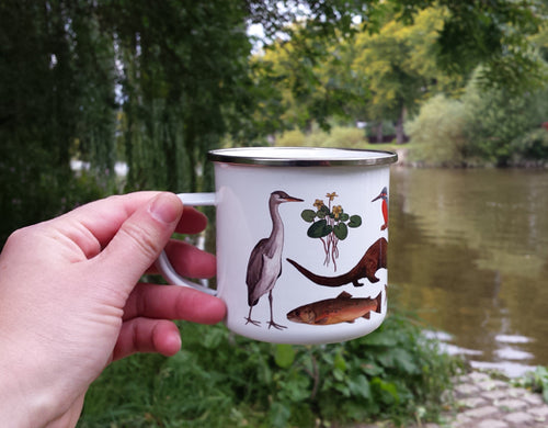 River species Enamel Mug Design