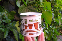 Load image into Gallery viewer, Allotment mug for gardeners by Alice Draws The Line, grow your own coffee cup