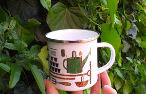 Gardener's mug for Allotment fans by Alice Draws The Line