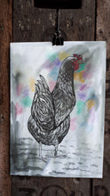 Load image into Gallery viewer, The hen by Alice Draws the Line