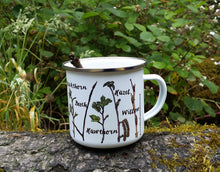 Load image into Gallery viewer, Twig Identification Enamel mug