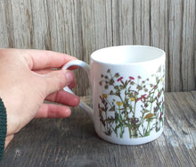 Load image into Gallery viewer, Wildflowers mug by Alice Draws The Line, a celebration of a spring hedgerow