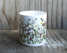 Load image into Gallery viewer, Wildflowers China Mug by Alice Draws the Line, Spring Wildflowers