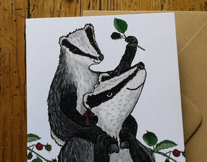 Badgers & Blackberries