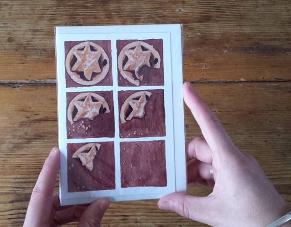 Mince Pie Christmas Cards