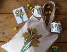 Load image into Gallery viewer, Daffodil tote bag