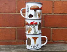 Load image into Gallery viewer, Enamel Fungi mug