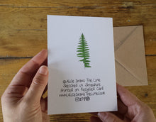 Load image into Gallery viewer, Ferns and Bracken Greeting Card