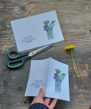 Load image into Gallery viewer, 2 Printable posy cards