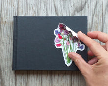 Load image into Gallery viewer, Sweet Pea Bouquet Sticker by Alice Draws The Line
