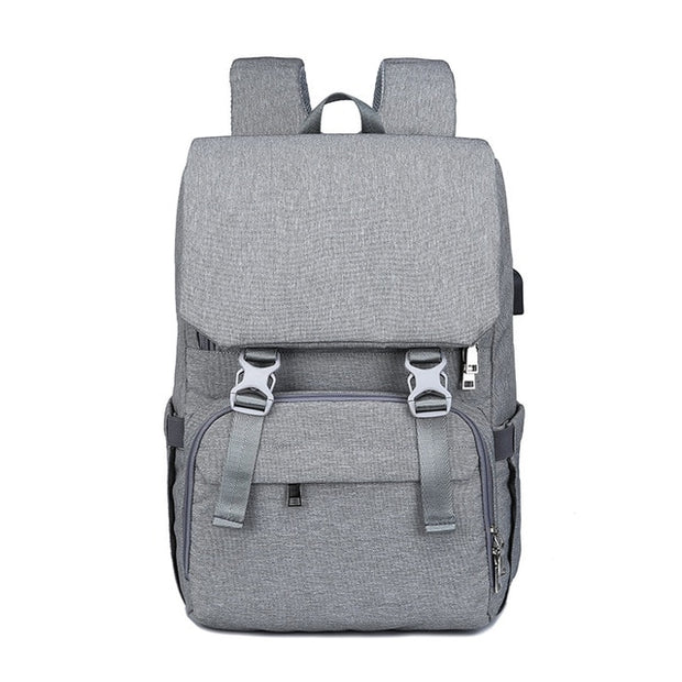 Baby Diaper Backpack Nappy Bag - BabyBunnyTraveler