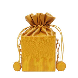 Fashion Drawstring Bucket  Purse - Aifa Fashions