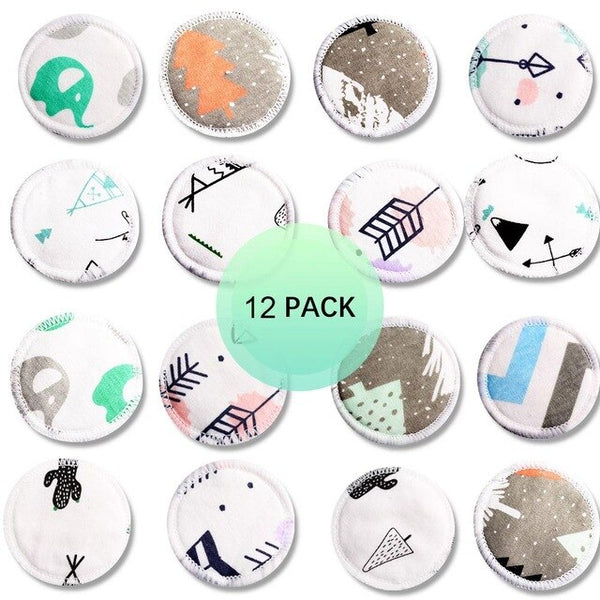 12pcs Reusable Cotton Removal Pads