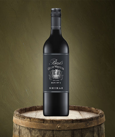 BEST'S GREAT WESTERN BIN 1 SHIRAZ
