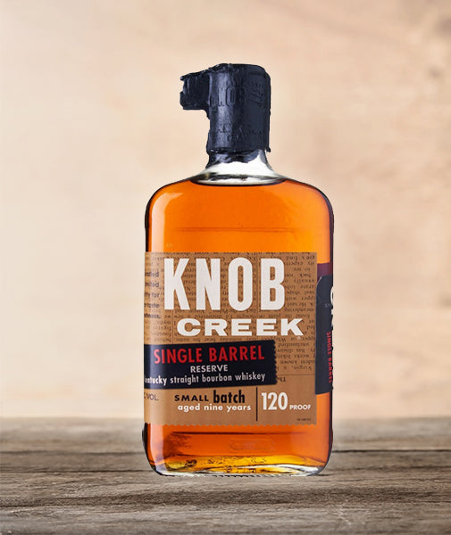 Knob Creek Single Barrel 9 Yrs 120 Proof