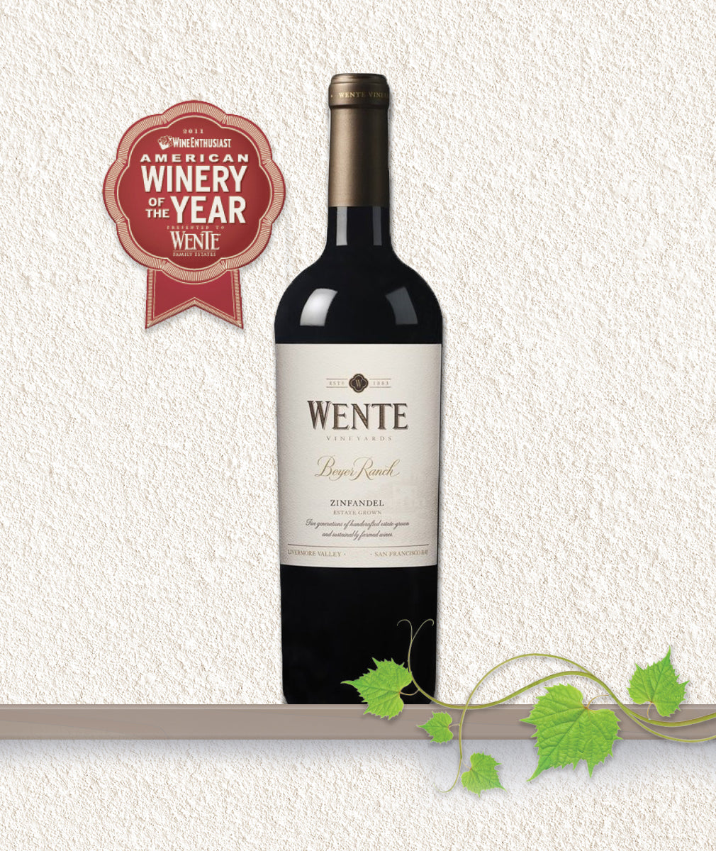 WENTE BEYER RANCH ZINFANDEL 2015