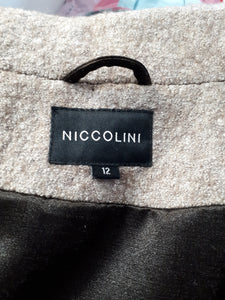 NICCOLINI - manteau de lainage