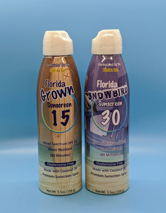 Florida Salt Scrubs Sunscreen