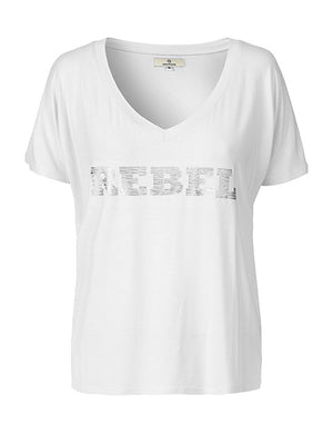 Load image into Gallery viewer, 1180 T-shirt Rebel White